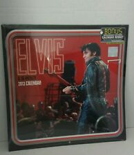 Elvis Presley 2013 Calendar 16 mon shrink wrap Signature product Mead New