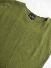 Cynthia Rowley Women's S Small 100% Cashmere Sweater Elbow Length Sleeve Green