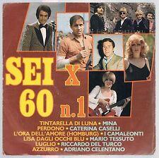 """SEI PER X 60 N. 1  MINA CATERINA CASELLI CELENTANO CAMALEONTI ...EP  7"""" 45 GIRI"""
