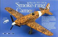 Mike Grant Decals 1/32 ITALIAN SMOKE RING CAMOUFLAGE for MACCHI FIGHTERS
