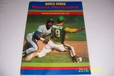 1973 Sports Illustrated OAKLAND A's  NEW YORK Mets WORLD SERIES News Stand N/Lab