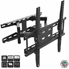"Full motion pivotant inclinable tv support mural montage vesa pour écran lcd led plasma 26"" - 55"""