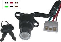 HONDA CB 250 M/N/P/R/T/W/X/Y -1 (CB TWO FIFTY) MC26 1991-2001 IGNITION SWITCH