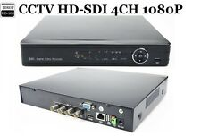 CCTV HD-SDI High Definition 4CH 1080P P2P SDI  DVR +1TB HDD  For HD-SDI Camera