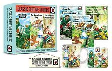 LADYBIRD CLASSIC BEDTIME STORIES GIFT SET 3 STORIES MUG COASTER DOOR SIGN - Gift