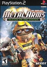 BRAND NEW SEALED PS2 Metal Arms: Glitch in the System (Sony PlayStation 2, 2003)