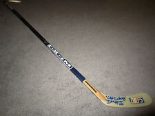 DAVE HANSON Johnstown Chiefs SIGNED Autographed Hockey Stick COA Slapshot Movie