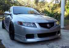 NEW ACURA TSX FRONT LIP BODY KIT A SPEC STYLE  04 05 2004 2005 SPOILER