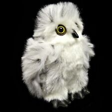 18cm Snowy Owl Soft Toy From Dowman - Stuffed Animal