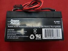 New Power Patrol 6V SLA0871 Battery for Elcotel Payphones Payphone Series 5 5501