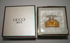 Vintage Gucci No.3 7mL Parfum with Gucci Jewelry Box Set