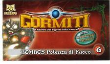 GORMITI  - FANBUK - CARTONE ANIMATO - BOMBOS - POTENZA DI FUOCO - POP  VULCANO
