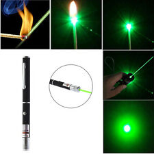 Powerful Green Laser Pointer Pen Visible Beam Light 5mW Lazer High Power 532n