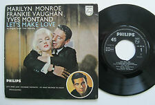 "7"" Marilyn Monroe Frankie Vaughan Yves Montand - Let's Make Love - Sammy Cahn"