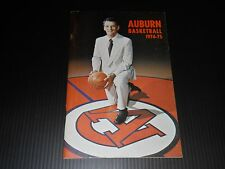 1974-1975 Auburn Tigers Basketball media guide - Beard-Eaves Memorial Coliseum