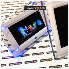 CORNICE DIGITALE 7 POLLICI CON TELECOMANDO USB FOTO VIDEO SD MP3 ILLUMINAZIONE