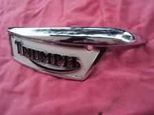 TRIUMPH UNIT 1969 ON  NEW OLD STOCK TANK BADGE 82-9700