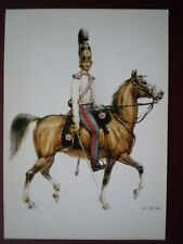 POSTCARD OFFICE OF LIFE GUARDS - GRAND DUCHY OF BADEN 1824