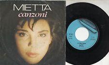 MIETTA raro disco 45 giri CANZONI 1989 Amedeo Minghi STAMPA ITALIANA Sanremo