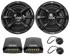 "RE Audio XXX6.5C 6.5"" 600W Component Car Audio Speakers XXX 6.5C Competition"