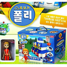 Robocar Poli rescue headquarters including Jin figure (EMS & sweety)