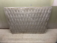 BEECHCRAFT B55 BARON AIRCRAFT BAGGAGE COMPARTMENT CLOSEOUT HONEYCOMB PANEL