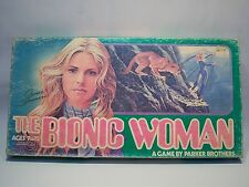 Vintage Parker Brothers 1976 The Bionic Women Tv Show Board Game