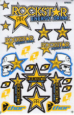 New Rockstar Energy Motocross ATV Racing Graphic stickers/decals. (st98)