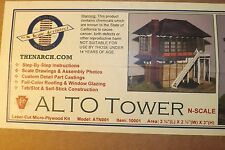 N SCALE ALTO TOWER   by N SCALE ARCHITECT # 10001