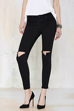 UNIF Burn Cropped Skinnies black jeans size 28 new with tag s