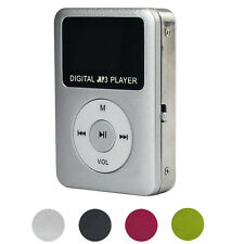 Digital MP3 Player LCD Screen Support 32GB Micro SD TF Card USB 2.0/1.1 FM Radio