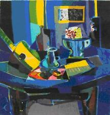 "Marcel Mouly    ""Guitar et Compotier ""      MAKE  OFFER   #DDSBA"