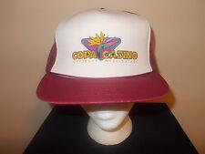 VTG-1980s Copa Casino Gulfport Mississippi trucker foam mesh snapback hat sku10