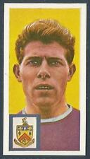 COMET SWEETS-FOOTBALLERS & CLUB COLOURS-1963- #33-BURNLEY & ENGLAND-RAY POINTER
