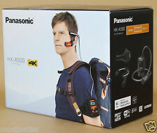 New Panasonic HX-A500 Wearable 4K POV Camcorder Orange from Japan
