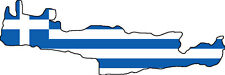 "Auto Aufkleber ""Kreta"" Griechenland Greece Decal Sticker!"