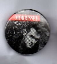 MORRISSEY  BUTTON  BADGE - THE SMITHS ENGLISH ROCK BAND / SINGER SONGWRITER 25mm