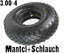 3.00-4 Reifen Schlauch + Mantel 3.00-4 260x85 mm Sackkarre Bollerwagen k34