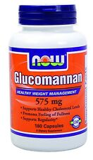 NOW Glucomannan 180 capsules