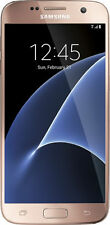 NEW Samsung Galaxy S7 ( Verizon ) GSM UNLOCKED - G930V-32GB- Pink Gold 4G LTE