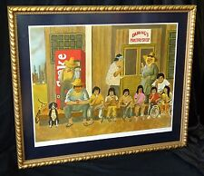 1980s French/Hawaii Color Litho 99/350 Da Hang's Pastry Shop by Guy Buffet (Hot)