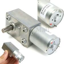 12V DC 2RPM Couple Elevé Moteur Reduction Vitesse ​​Turbo Turbine Vis JGY 370