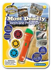 MOST DEADLY ANIMAL PROJECTOR Kids Science Game Light Torch Nature Wild Photos