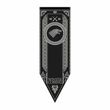 Game of Thrones New * Stark Tournament Banner * 60 x 19 Fabric Poster Print