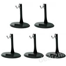 "5PCS 1/6 12""Action Figure Doll Stand Base for Hot Toys Sideshow Enterbay Dragon"