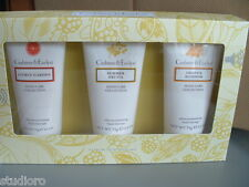 CRABTREE & EVELYN 3pc Boxed GIFT SET ultra moisturizing HAND THERAPY cream 2.6oz