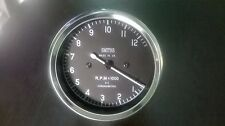Smiths Tachometer 80 mm fitment M12x1  thread Replica 4 :1 (12000 rpm)