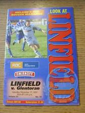 17/11/2001 Linfield v Glentoran  (No obvious faults)