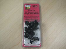 "Kadee HO Scale Metal Wheelsets - #520 33"" smooth-back RP-25 wheels (12 sets)"