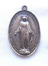 "VTG Mary Medal ""O Mary Conceived Without Sin Pray For Us Who Have Recourse..."